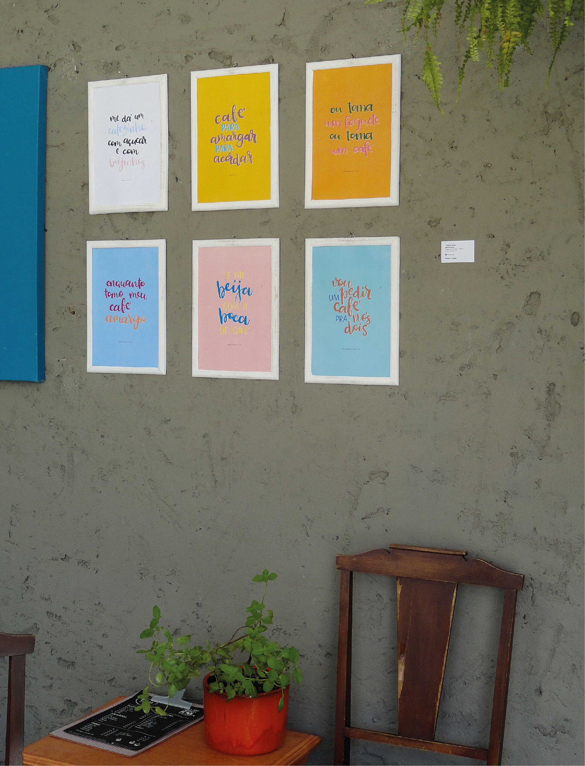 Cafe na Letra